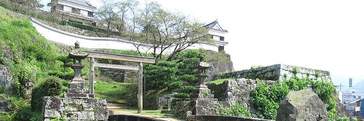 城跡 臼杵 臼杵城址と仁王座歴史の道散歩
