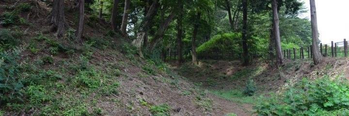 公園 滝 の 城址 滝の城 難波田城